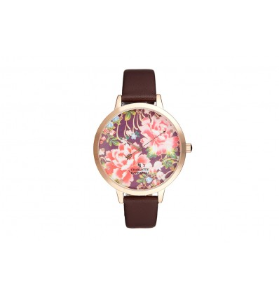 La Florale Rose Gold/Marron